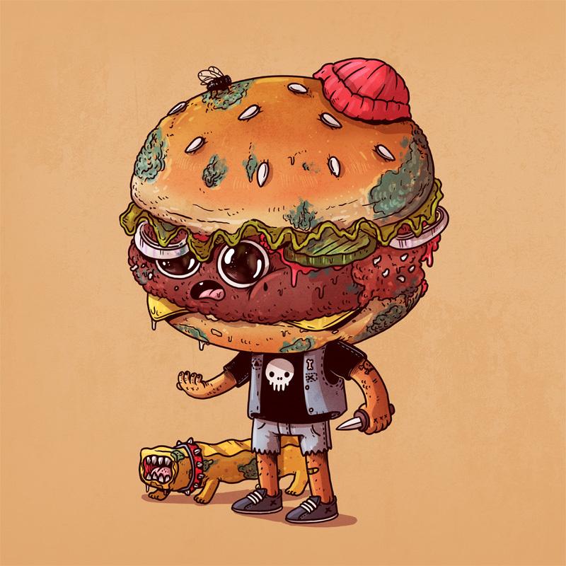 La Beast Hot Dog