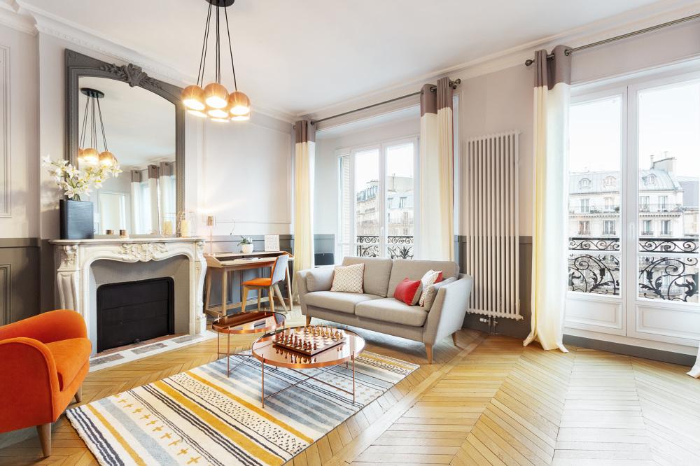 Rénovation d\'appartement Haussmannien - Carole\'s Interiors